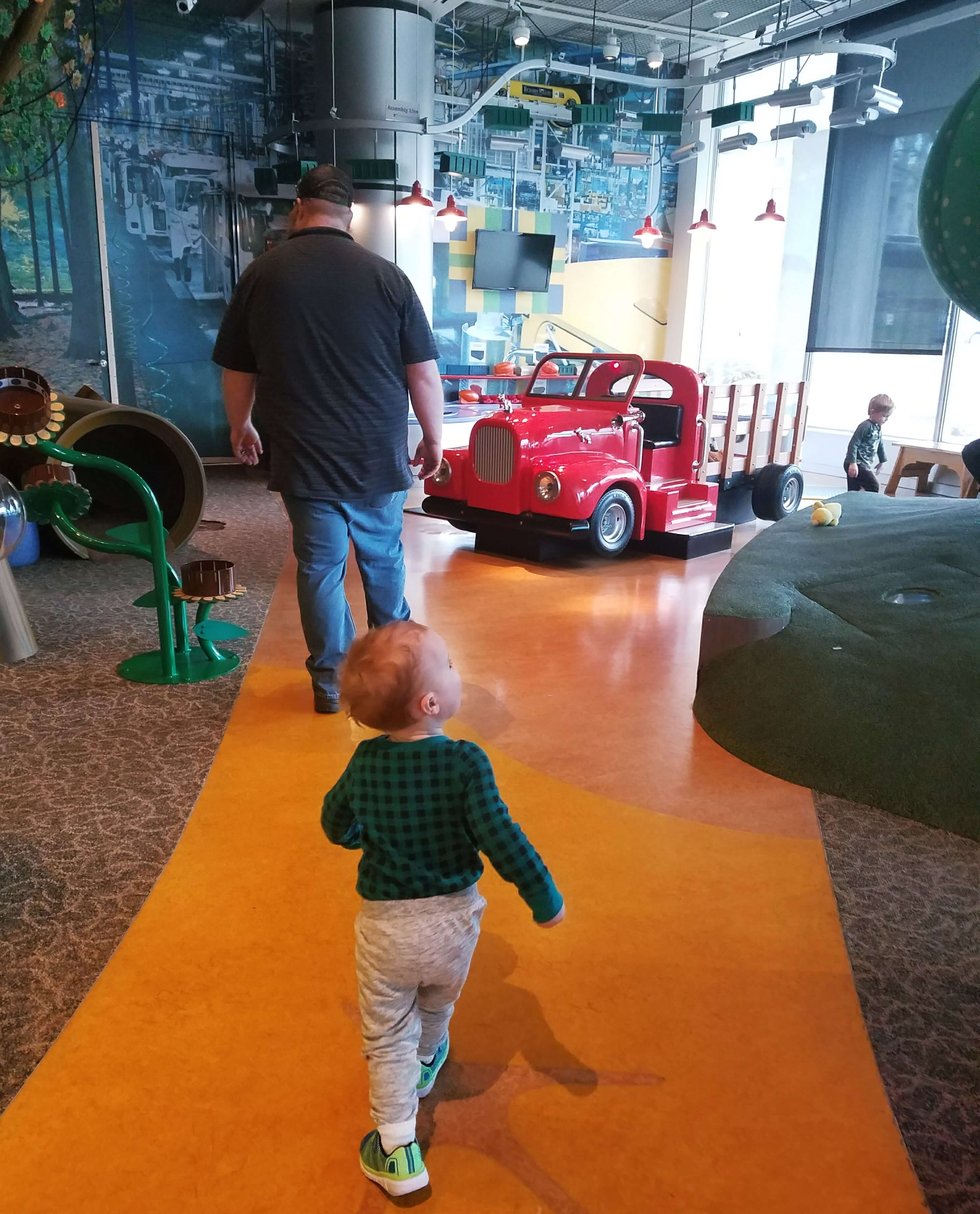 The State Museum of Pennsylvania with a Toddler
