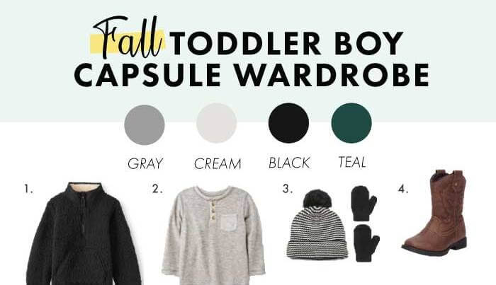 Fall Capsule Wardrobe For Toddler